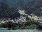 白峰村全景